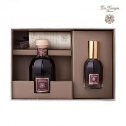GIFT BOX 100 PLUS ROSSO NOBILE 25ML SPRAY + 100ML FRAGRANZA AMBIENTE CON BASTONCINI
