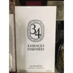 Eau de Parfum 34 ESSENCES INSENSEES 2015